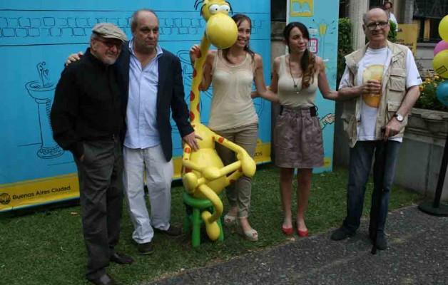 En el Museo del Humor se inauguró la muestra del dibujante Mordillo