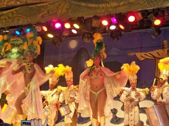 La danza es una expresión del Carnaval en Brasil