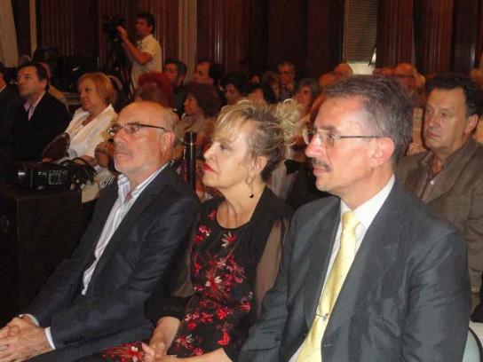 Doña Elvira Cortajarena y Dr. Félix Daniel Castro Vázquez