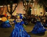 Villa Mercedes bailó al ritmo de la Scola de Samba Sierras del Carnaval