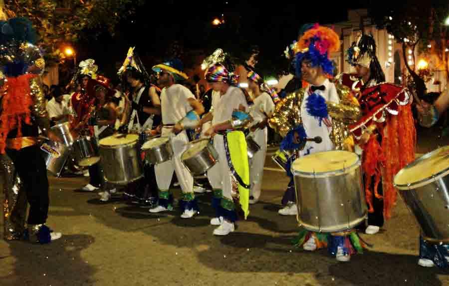 Batería de la Scola de Samba Sierras del Carnaval