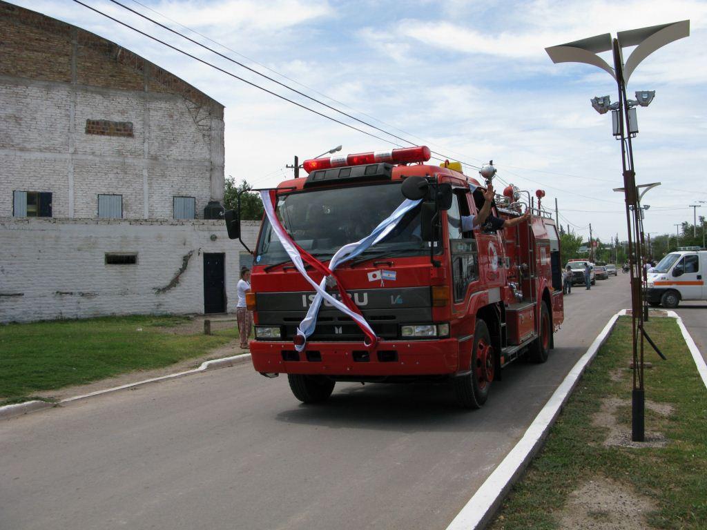 Camión autobomba Isuzu de 4000 lts