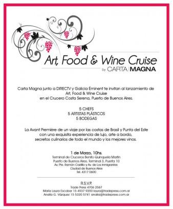 Art, Food & Wine Cruise