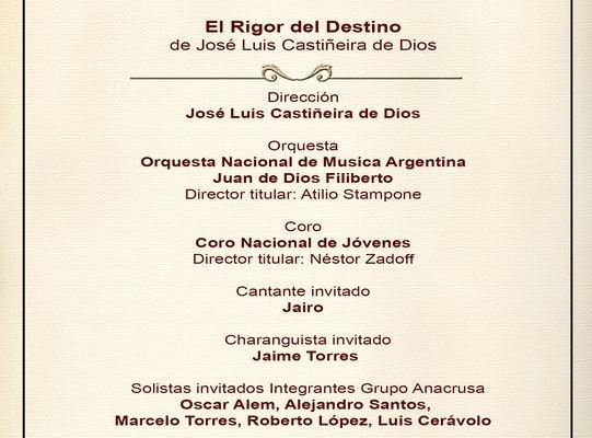 Misa Criolla en el Teatro Nacional Cervantes