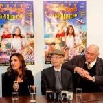 Soledad Pastoruti, Manuel García Ferré y Pelusa Suero