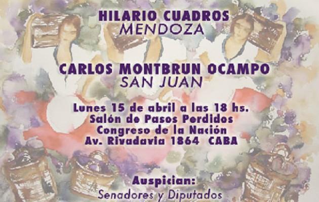 Para el Tiempo de Cosecha, es el ciclo musical celebrado por Mendoza y San Juan