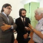 Licenciado Juan Martín Leguizamón, Licenciado Juan Pablo Todaro y periodista Juan Carlos Bustos