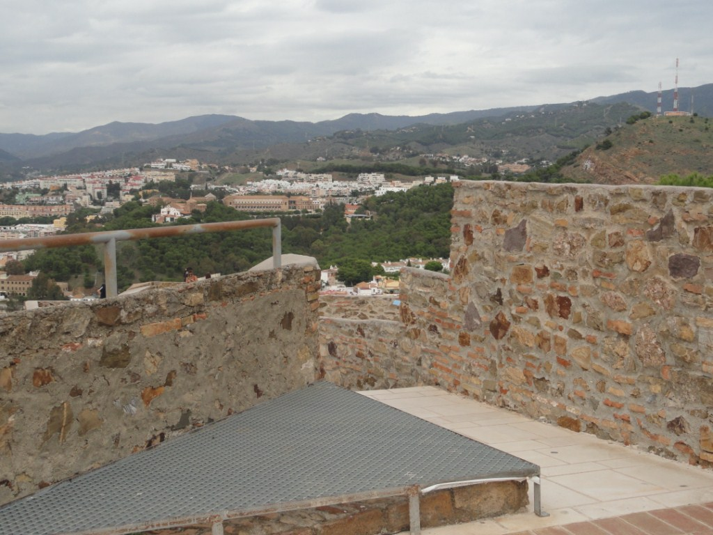 Vista del Castillo de Gifralfaro
