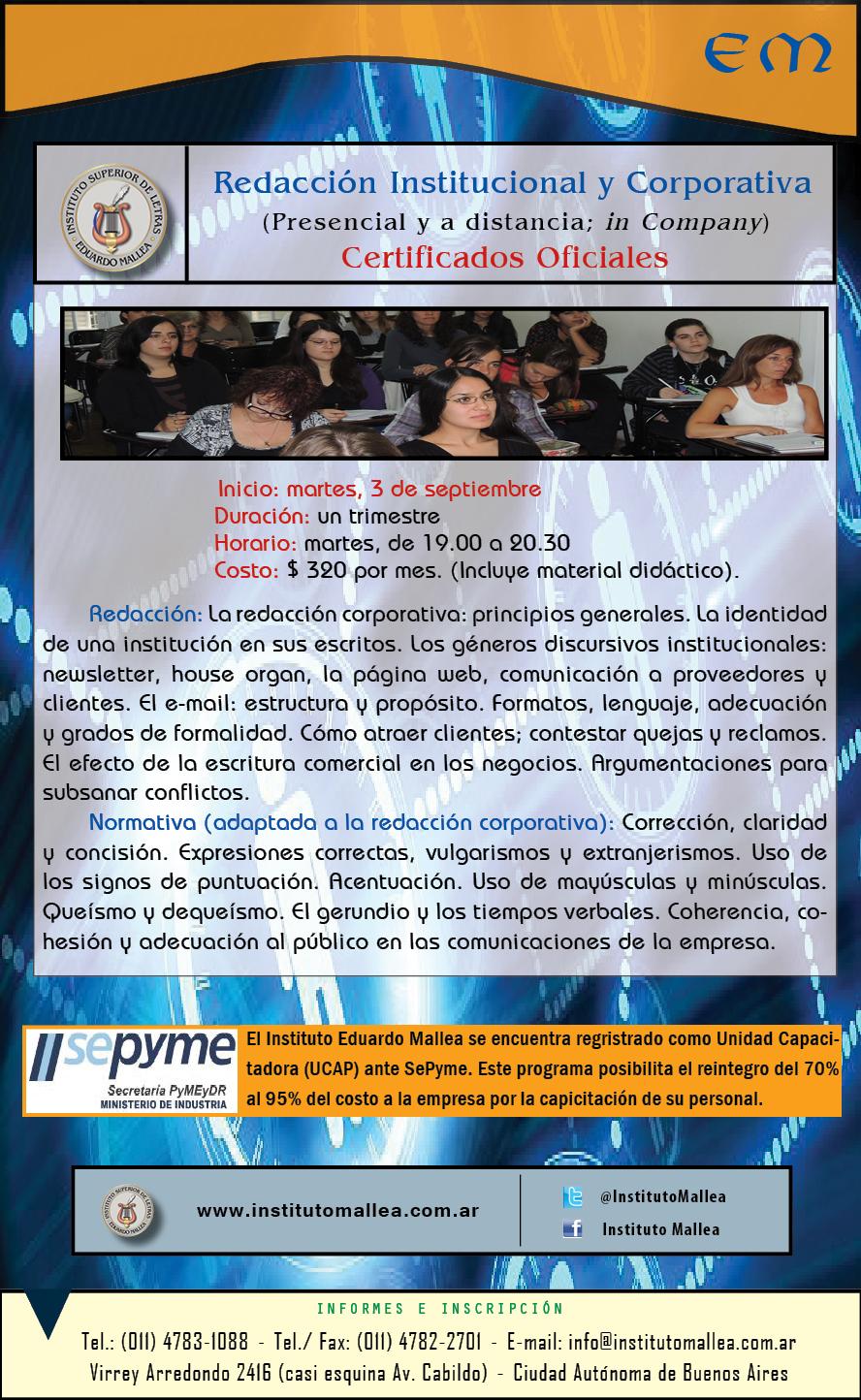 gacetilla institucional facebook 2013