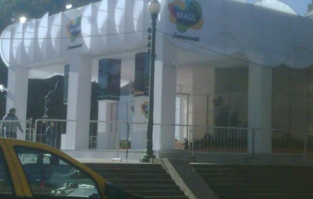 La Jornada Mundial de la Juventud fue transmitida en Plaza San Martín