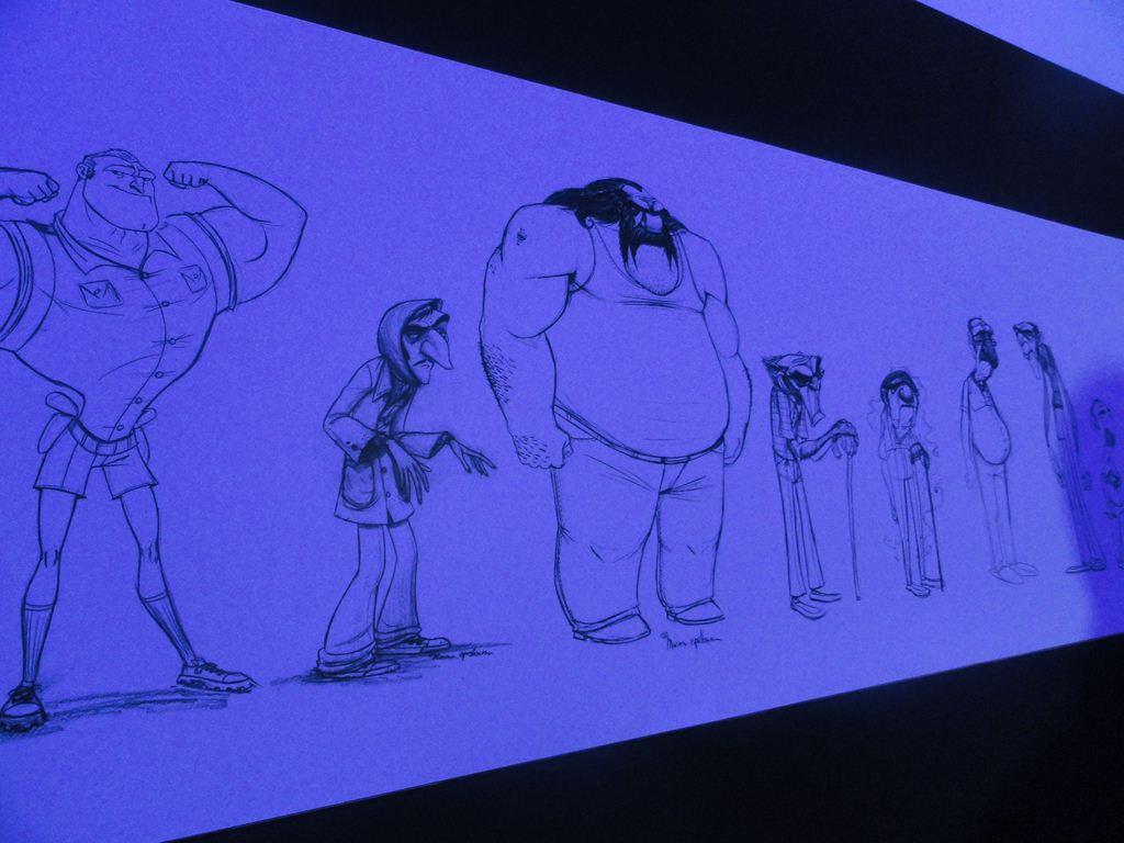"""Muestra """"Metegol 3D – El arte de la animación"""""""
