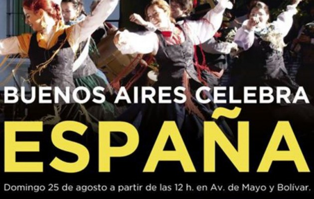 Buenos Aires celebra España festeja