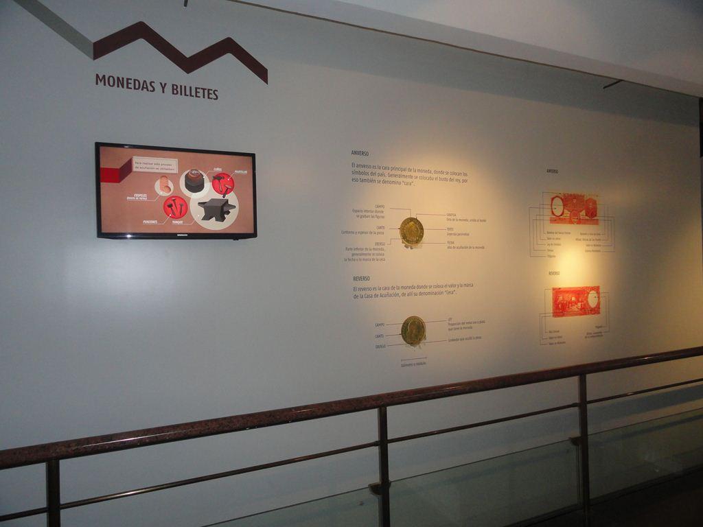 Museo Banco Provincia. Monedas y billetes