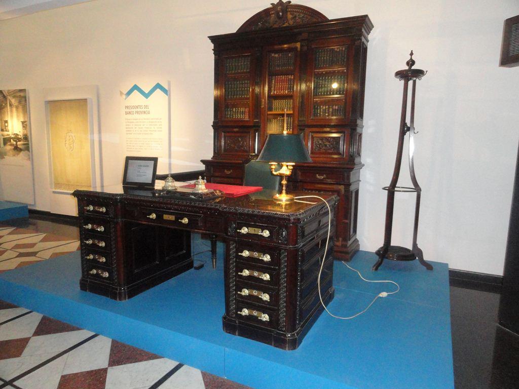 Museo Banco Provincia. Despacho de Presidentes