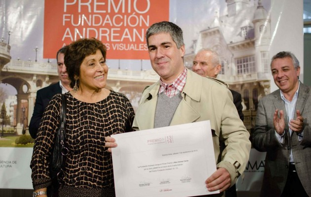 La Fundación Andreani entregó el Premio a las Artes Visuales