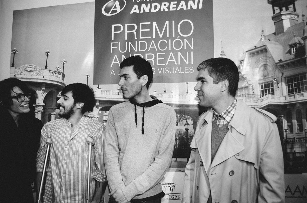 Premio Fundacion Andreani a las artes visuales Soledad Dahbar - Valentin Demarco - Federico Lanzi - Max Gomez Canle