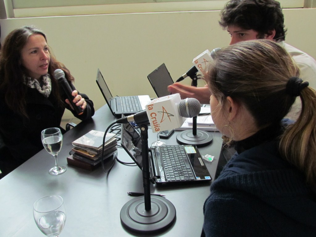 Alejandra Darín en radio abierta