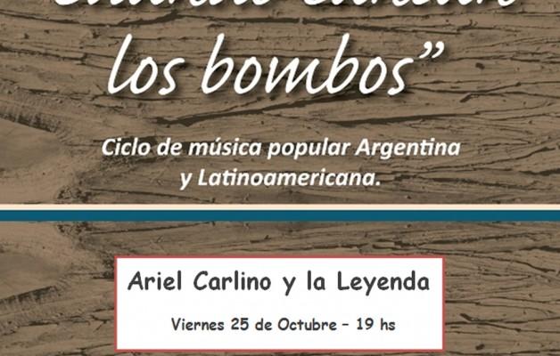"""El charanguista Ariel Carlino presenta """"Cuando cantan los bombos"""""""