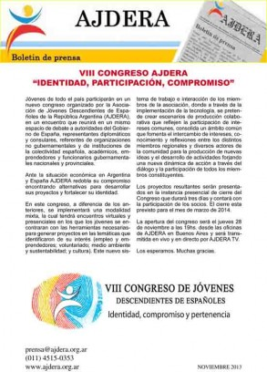 Congreso Ajdera