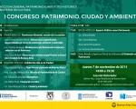 El Congreso sobre Patrimonio, Ciudad y Ambiente se realizará en La Casa del Historiador