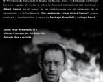 Albert Camus será homenajeado en la Alianza Francesa