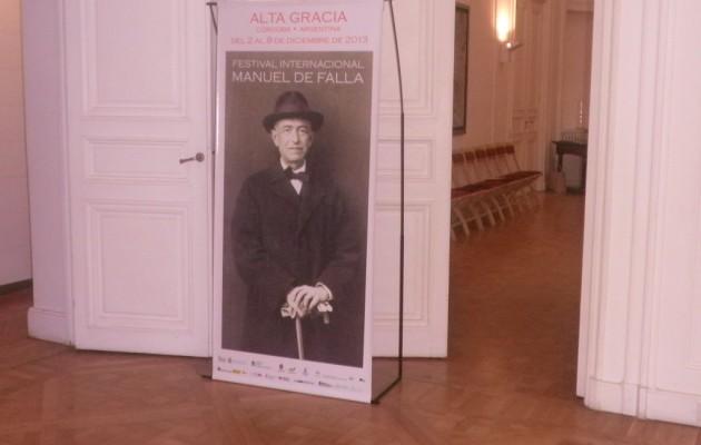 El Festival Internacional Manuel de Falla se realizará en Alta Gracia, Córdoba