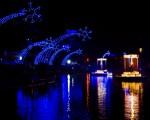 La ciudad brasileña de Gramado celebra la Navidad