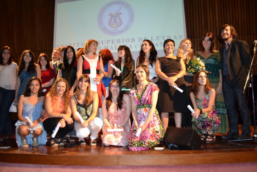 Alumnos recibidos en el Instituto Mallea