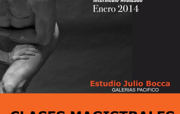 Clases Magistrales de Ballet de la mano de Juan Pablo Ledo