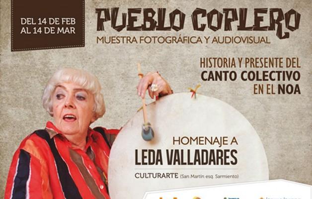 Leda Valladares será homenajeada en Jujuy, con una muestra de arte y canto coplero