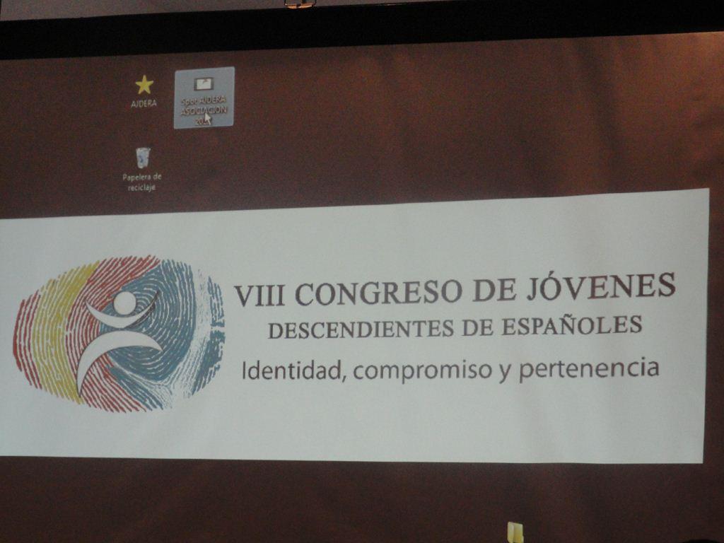 El  8vo.  Congreso de la Asociación de Jóvenes Descendientes de Españoles de la República Argentina