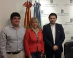 El Centro de Descendientes de Españoles Unidos se reunió con el Secretario Xeral  de Emigración de Galicia, Antonio Rodríguez Miranda