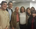 Carmela Silva recibió a integrantes del Centro de Descendientes de Españoles Unidos
