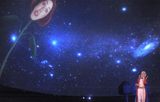 """""""El Principito"""" en el Planetario Galileo Galilei"""