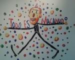 Ricardo Liniers Siri expone Todo es macanudo en el Centro Cultural Borges