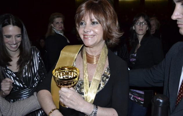 Lina Mundet, rectora del Instituto Eduardo Mallea fue premiada por la Asociación de Rectores de la República Argentina