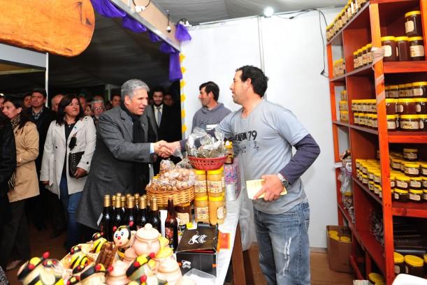 Gobernador Claudio Poggi en la Fiesta de la Dulzura