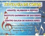 Xuntanza de coros  se presentará en el Centro Galicia de Buenos Aires
