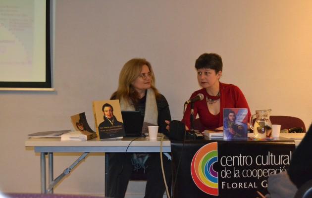 San Martín par lui-même et par ses contemporains fue escrito por Denise Anne Clavilier
