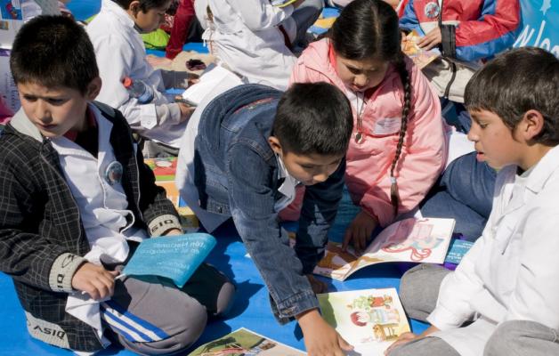 La Maratón Nacional de Lectura de San Luis está organizada por la Fundación Leer