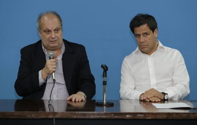 """Facundo Manes y Hernán Lombardi disertaron en la muestra """"Los 280 días. La CONADEP"""""""