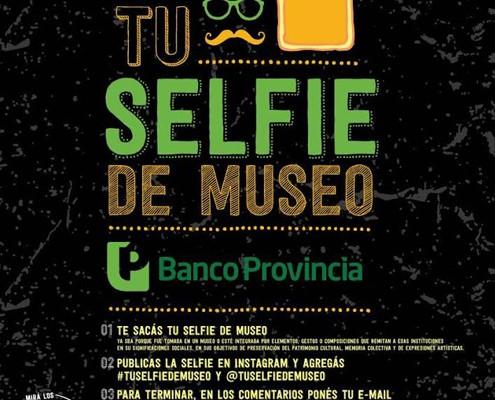 """El Banco Provincia organiza el concurso """"Tu Selfie de Museo"""""""