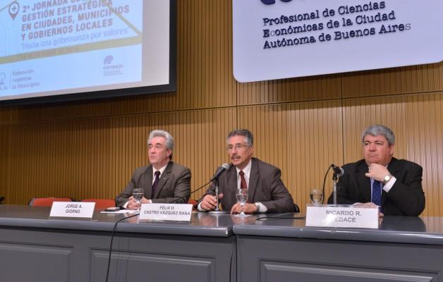 """""""Hacia una gobernanza por valores"""", fue el lema de la Segunda Jornada sobre Gestión Estratégica"""