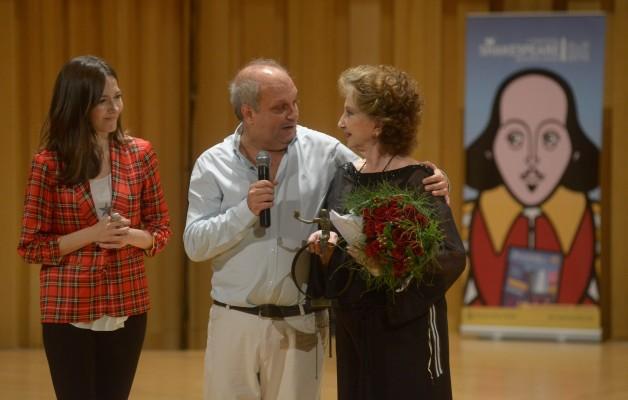 Norma Aleandro recibió el Premio Shakespeare Buenos Aires