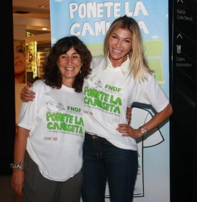 Catherine Fulop apoya a la Fundación Flexer