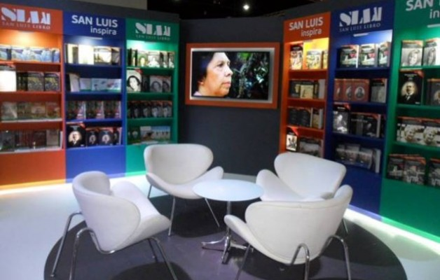San Luis estuvo presente en la inauguración de la Feria Internacional del Libro
