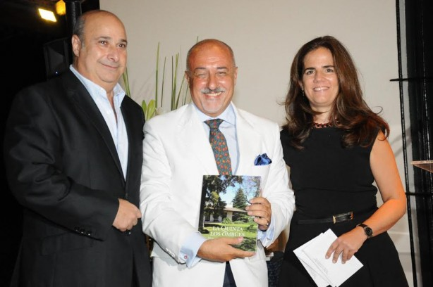Dr. Carlos Castellano, Prof. Eduardo Tenconi Colonna y Arq. Marcela Fugardo