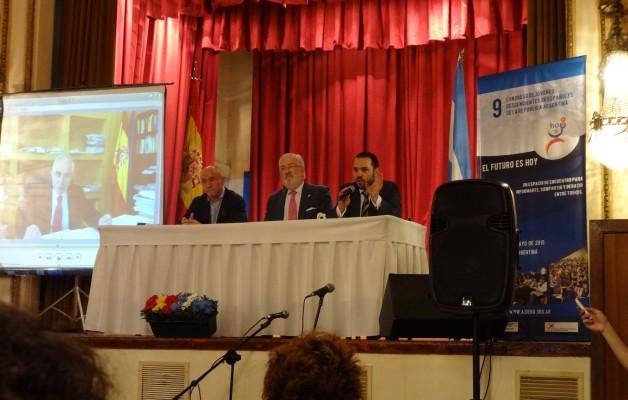 El IX Congreso de AJDERA, se realizó en el Club Español de Buenos Aires