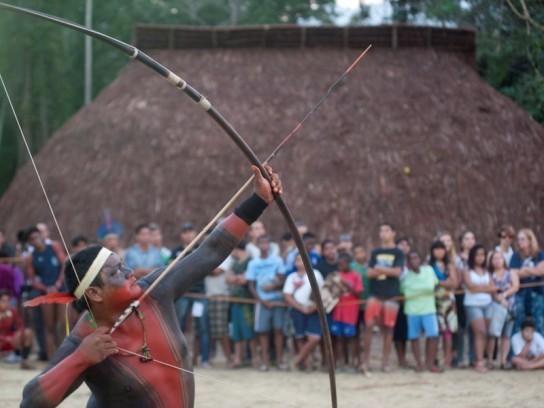 Arena Jogos Mundiais Indígenas. Crédito para Organização JMPI (2)