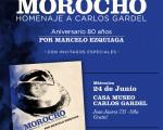 """La Casa Museo Carlos Gardel presentará el disco """"Morocho"""""""